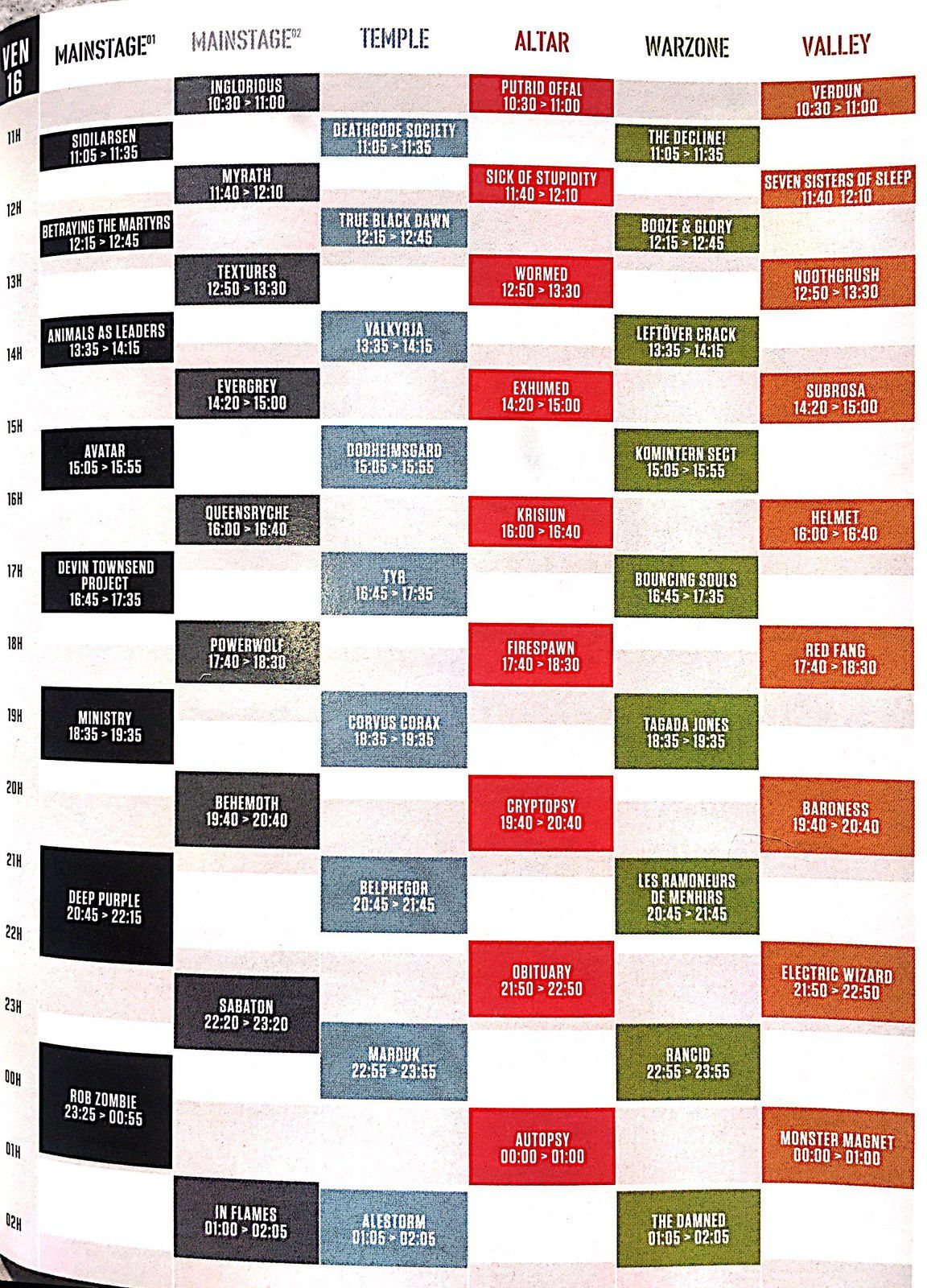 Et vous ? Qui irez vous voir au Hellfest 2017 ???