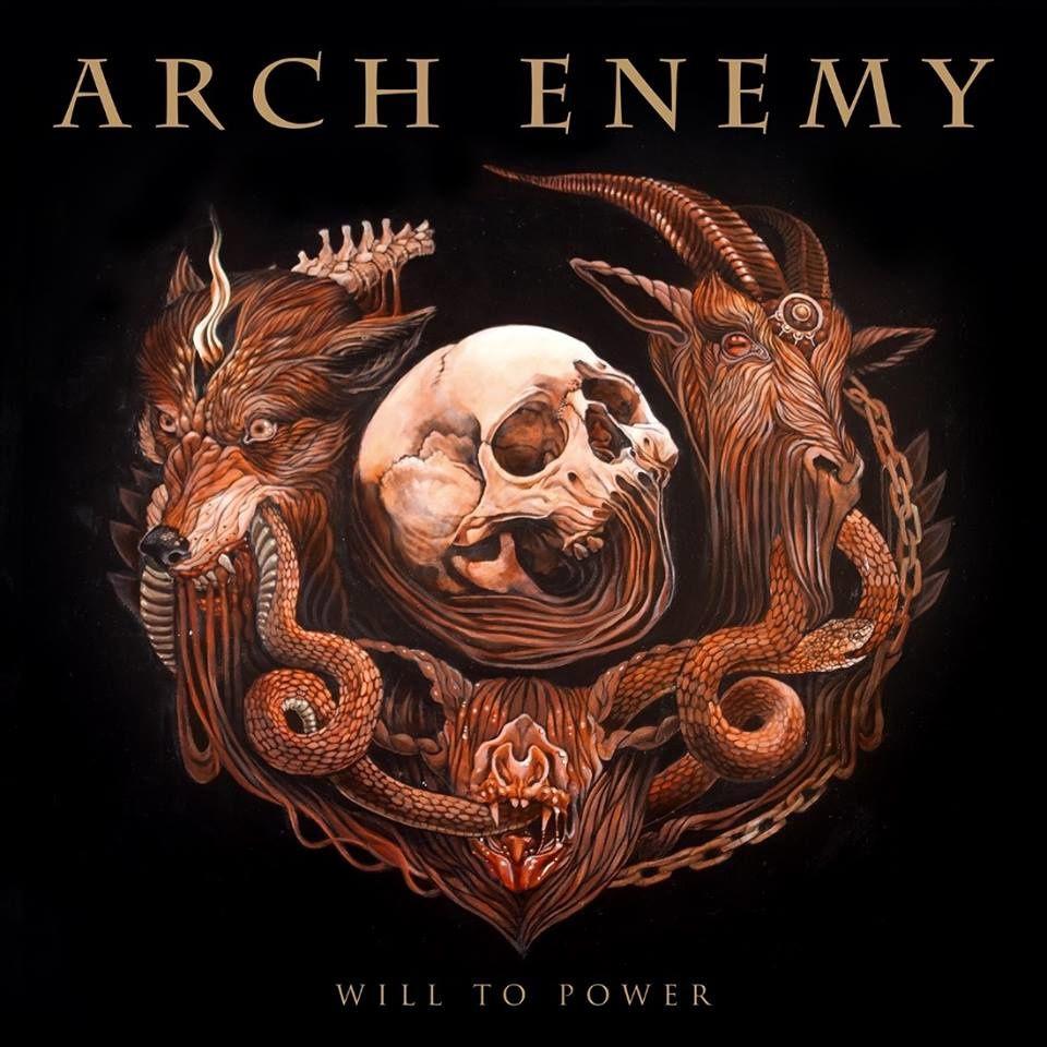 """Que pensez vous du nouvel artwork d'ARCH ENEMY """"Will to power """"?"""