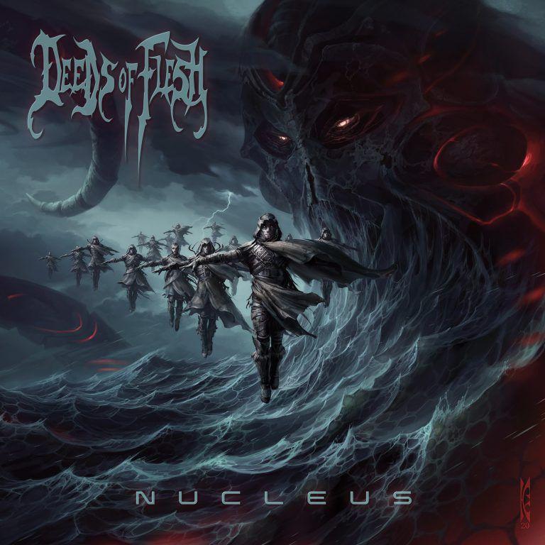 """Chronique du dernier DEEDS OF FLESH """"Nucleus"""" : L'album hommage aux airs d'adieu..."""