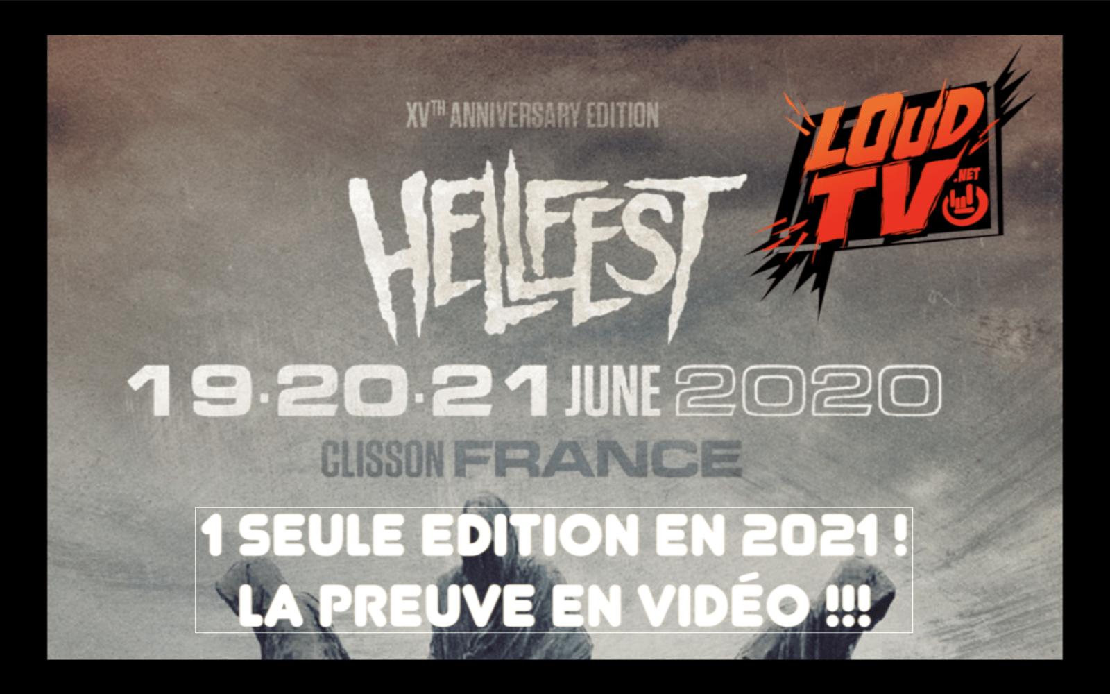Non ! Il n'y aura pas 2 Hellfests en 2021 !