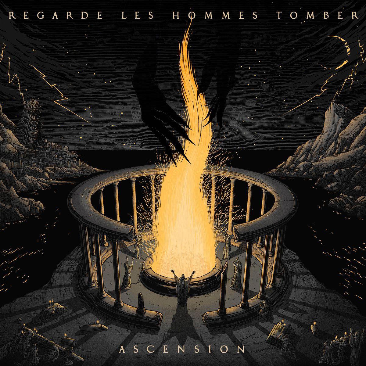 """Chronique de l'album de REGARDE LES HOMMES TOMBER """"Ascension"""""""