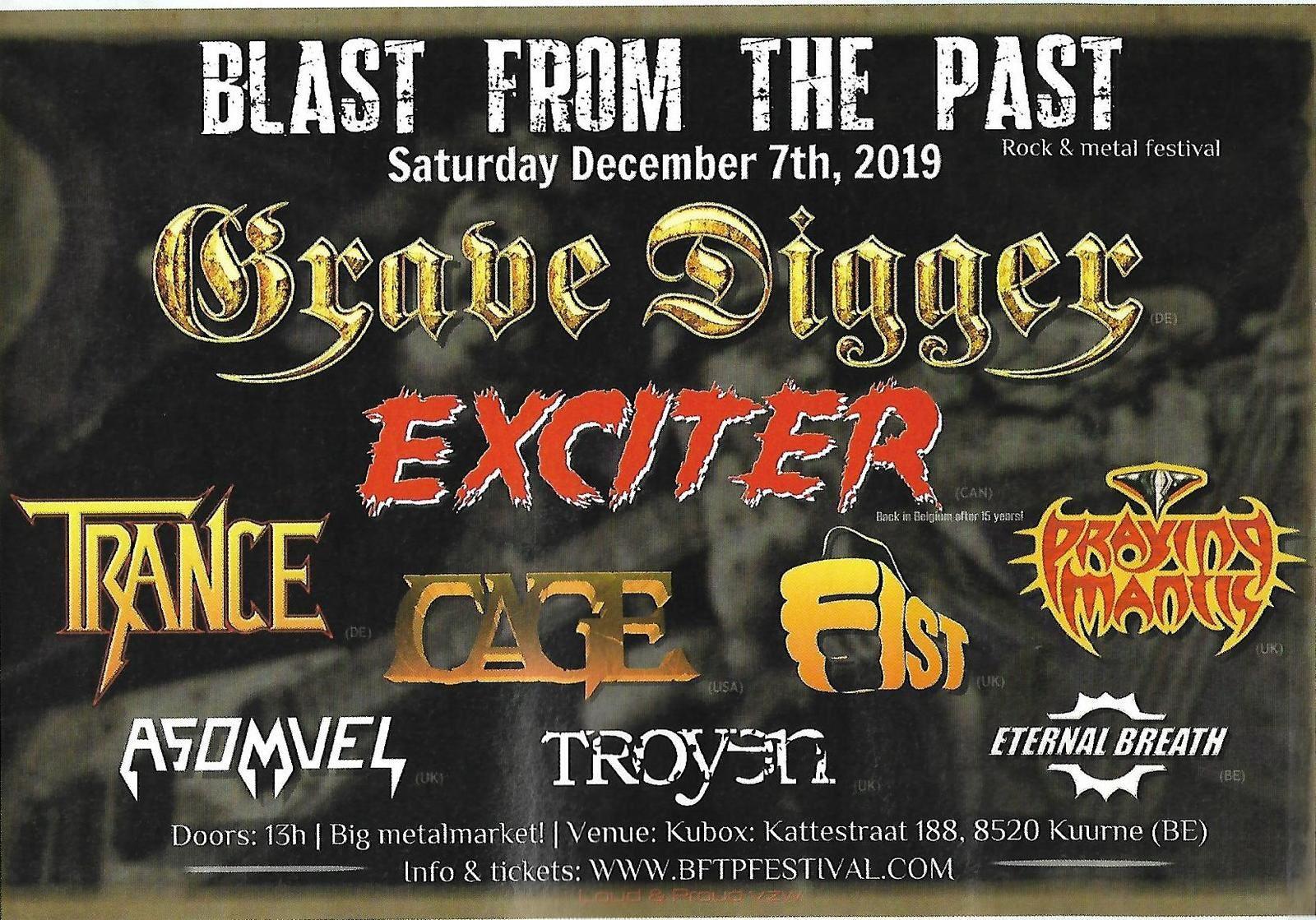 Découvrez le Blast From The Past Festival qui aura lieu dans 3 semaines en Belgique ! 🇧🇪