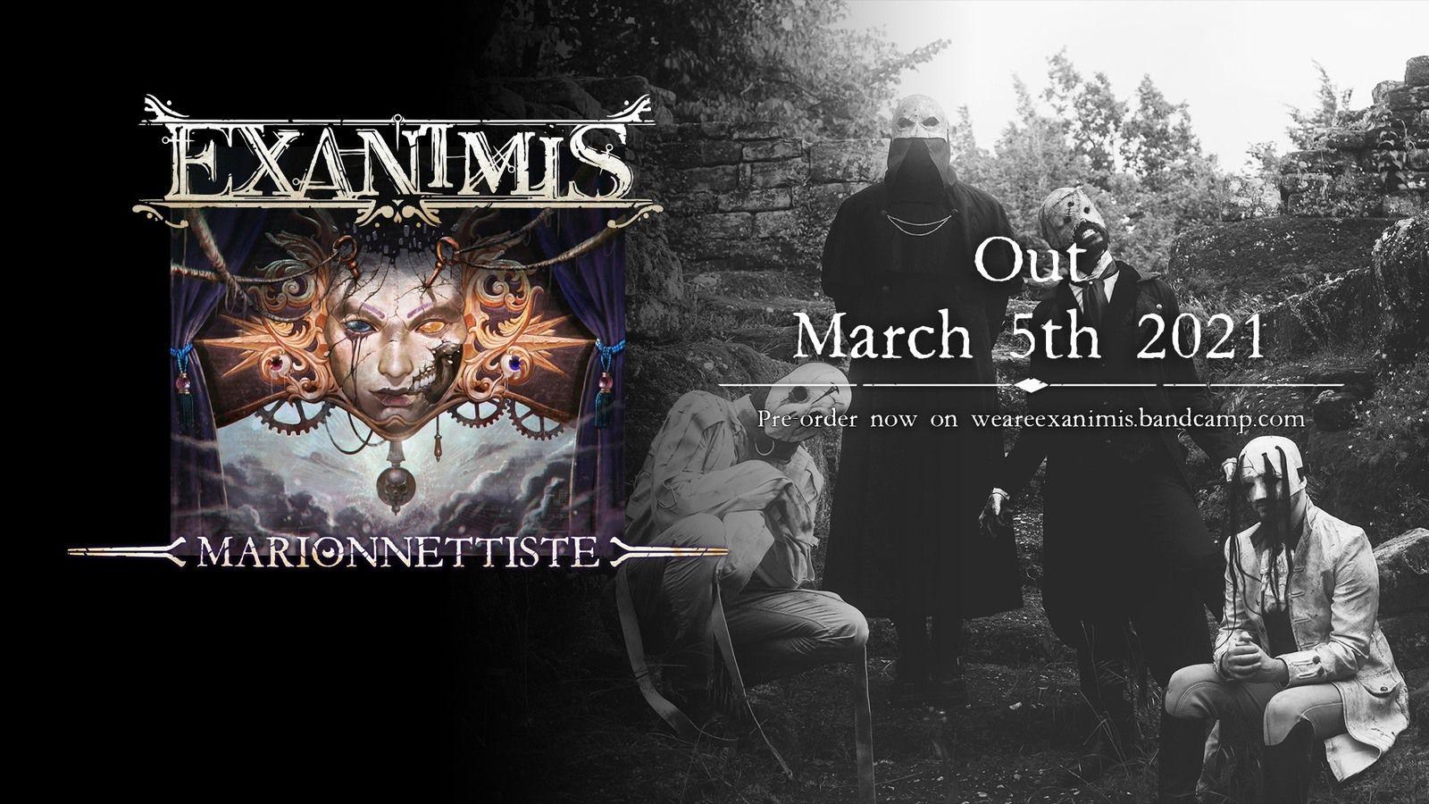 """Interview du groupe EXANIMIS pour son premier album """"Marionnettiste"""""""
