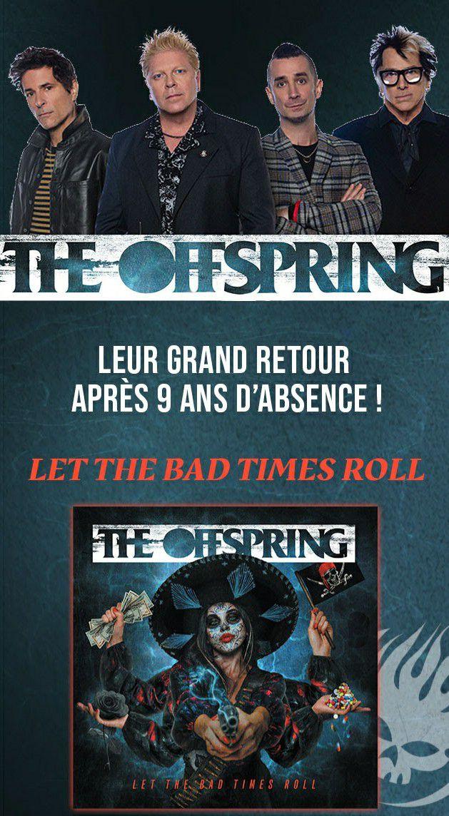 LYRICS VIDEO : c'est le retour de THE OFFSPRING !