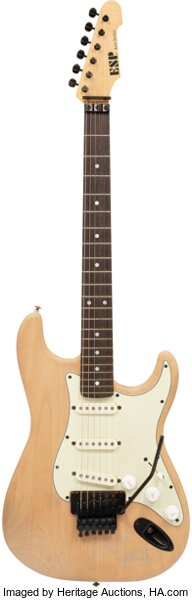 guitare kirk hammett
