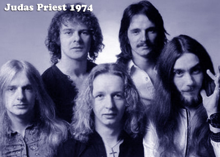 Judas Priest en 1974