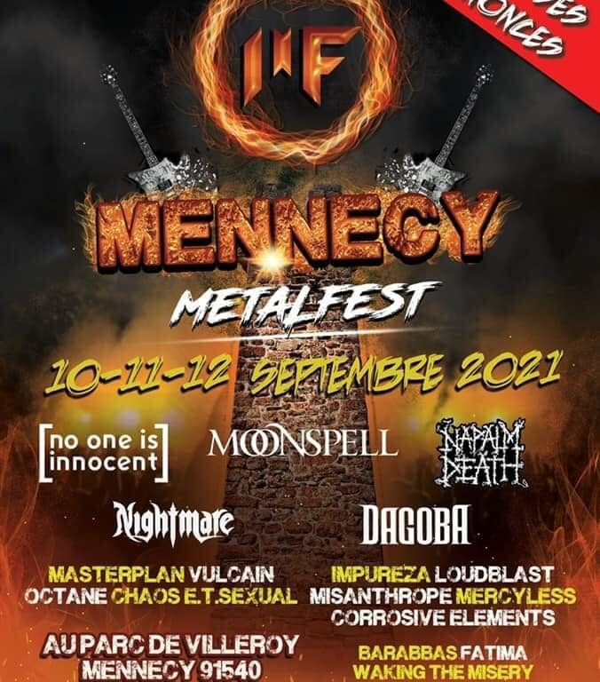 Mennecy Métal Fest 2021