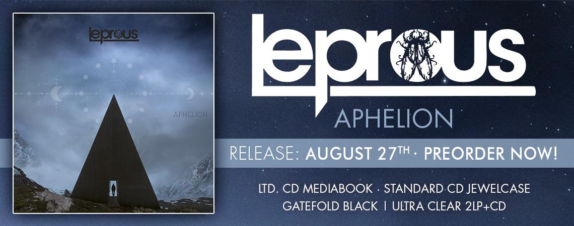 Les différents formats du nouvel album APHELION.