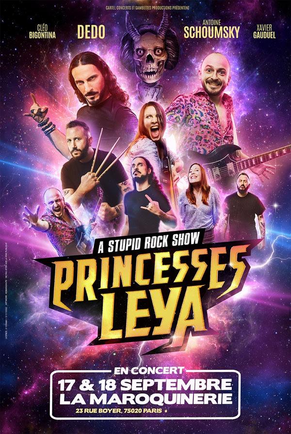 Les fous furieuses princesses de LEYA.