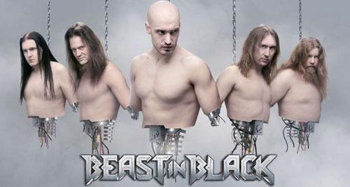 BEAST IN BLACK.