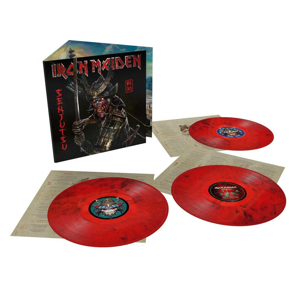 Le triple vinyle rouge.