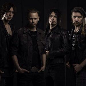 Le band suédois au complet.