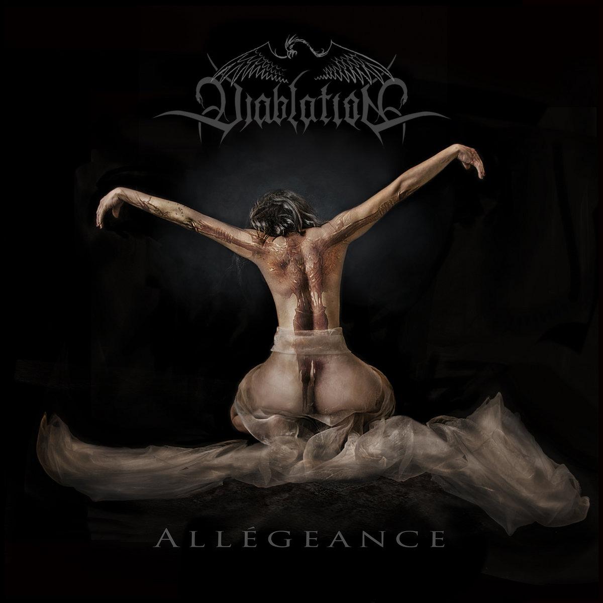 Magnifique travail de gravure pour ce premier disque: ALLEGEANCE.